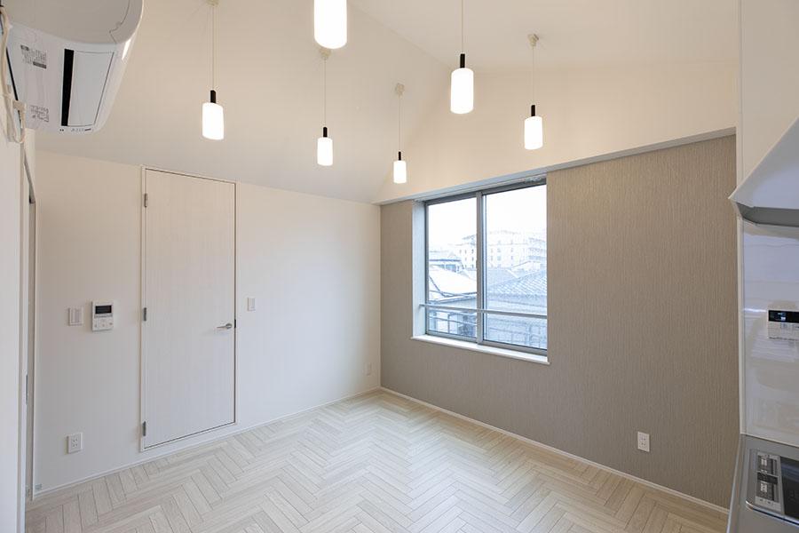 新築アパート リビング