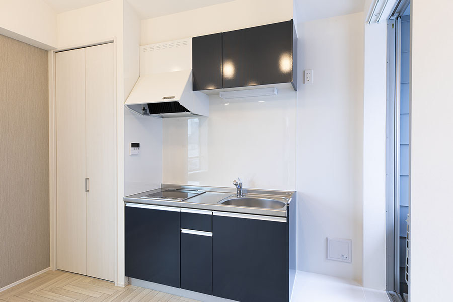 新築アパート キッチン