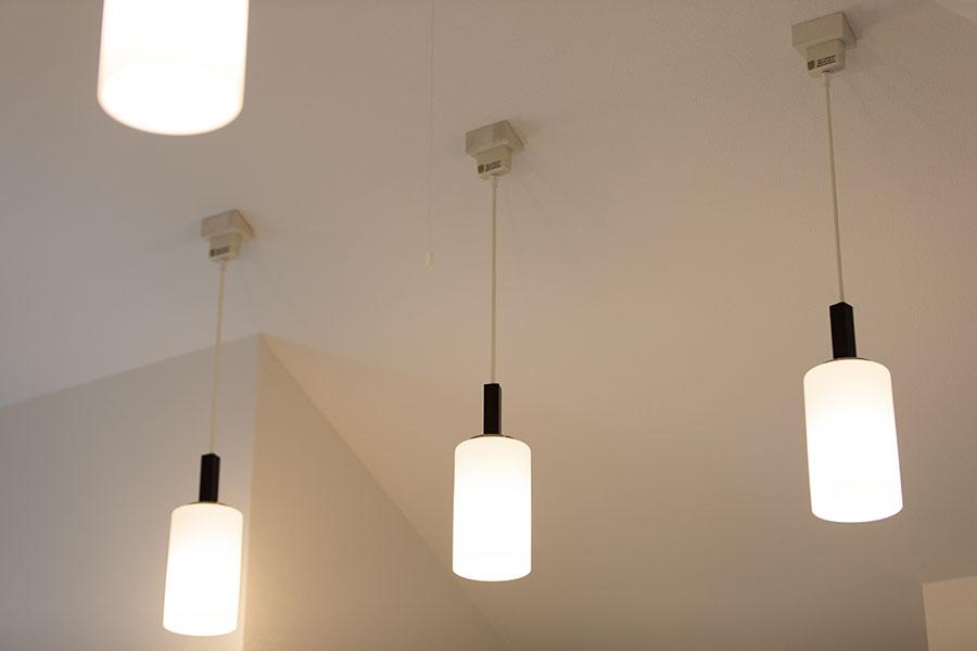 新築アパート 照明