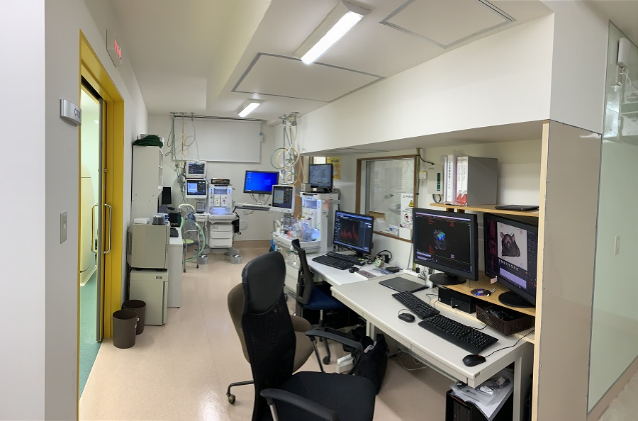 MRI CT 操作スペース