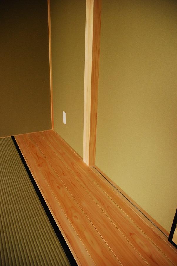 新築戸建て 和室 地板