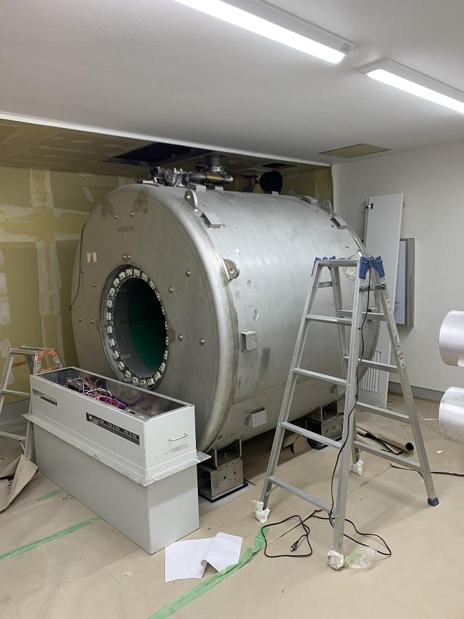 MRI 搬入